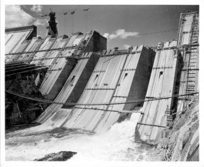 Building Shasta Dam BoR