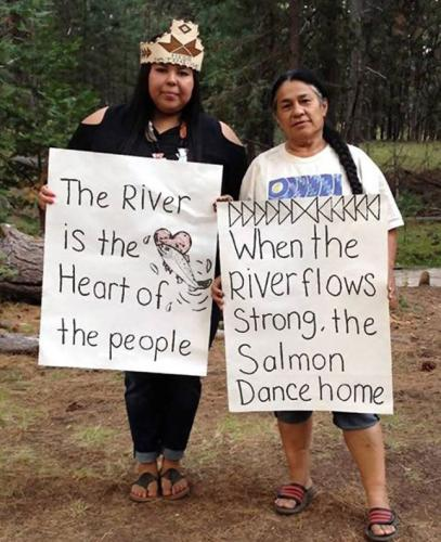 when the river flows